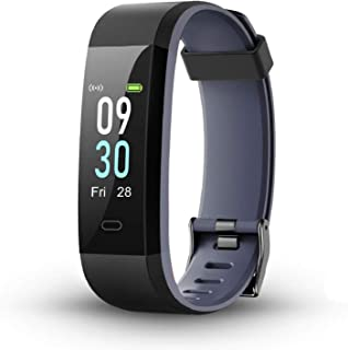 LETSCOM Fitness Tracker with Heart Rate Monitor, Color Screen Smart Watch with Sleep Monitor, Step Counter, Calorie Counte...