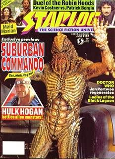 STARLOG #167 Hulk Hogan Suburban Commando Dr Who Jon Pertwee Robin Hood 6 1991