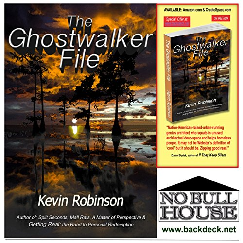 The Ghostwalker File audiobook cover art