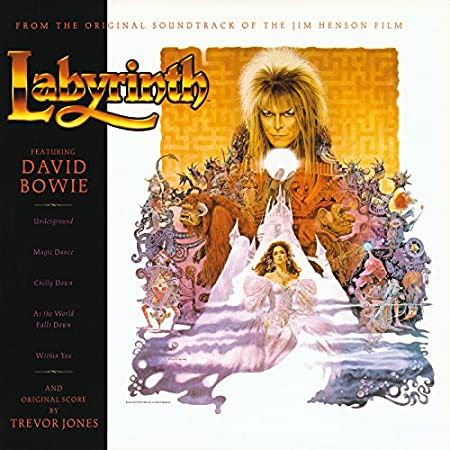 vinile labyrinth david bowie colonna sonora