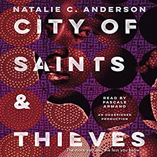 City of Saints & Thieves audiobook cover art