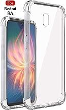 Jkobi Rubber Back Cover for Xiaomi Mi Redmi 8A -Transparent