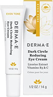 DERMA E Dark Circle Reducing Eye Cream, 0.5 oz