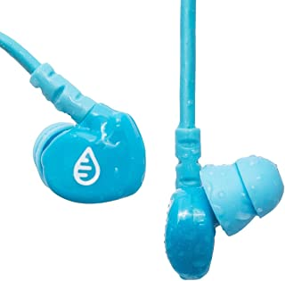 Waterfi SwimActive Waterproof Headphones The Premiere Swimming Headphones | Short Cord, Sleek Design, Memory Wire Technology and Soft Silicone Tips Specially Designed to Handle Flipturns and Wipeouts
