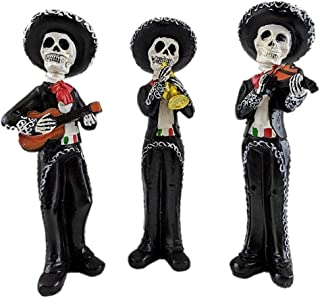 Best dia de los muertos mariachi figurines Reviews