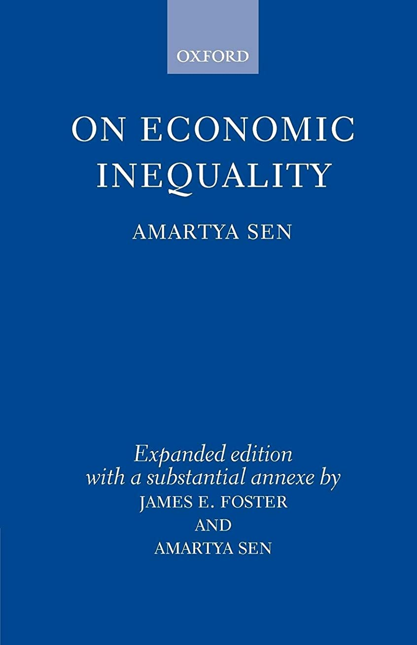 On Economic Inequality (Radcliffe Lectures)
