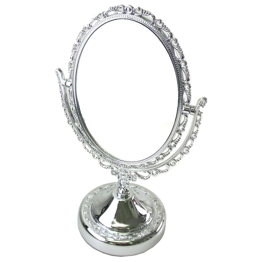 矩形セメント思いやり(ジル スチュアート) JILL STUART 鏡 ミラー スタンドミラー 化粧 メイク コスメ 丸 ラウンド