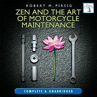 Zen and the Art of Motorcycle Maintenance audiobook cover art