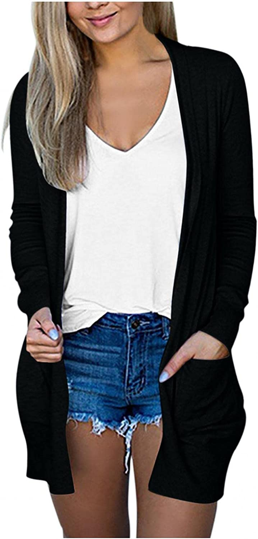 Cardigan for Women,Women Lightweight Fashion Long Sleeve Sweatshirts Casual Funny Cute Pumpkin Sweaters Tops
