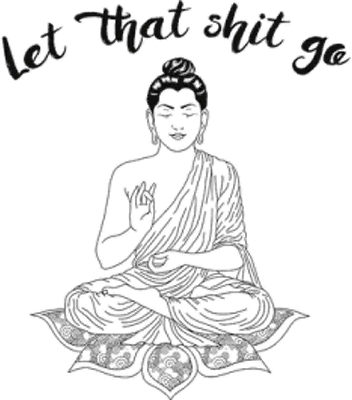 Let That Sht Go Printed T-Shirt