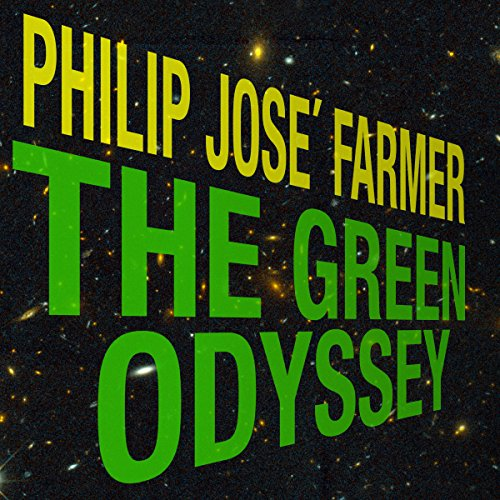 The Green Odyssey audiobook cover art