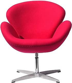 ABCインテリア スワンチェアー YS-7138 ピンク リプロダクト品 ラウンジチェア ソファ 1人掛け デザイナーズチェア アルネ・ヤコブセン スワンチェア イス 椅子 チェアー アルネヤコブセン 北欧