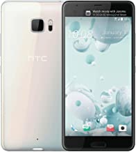 HTC U Ultra 64GB GSM Unlocked Smartphone, Ice White (Dual-Dsiplay | 16MP+12MP Cameras | 3D Audio | HTC Sense)