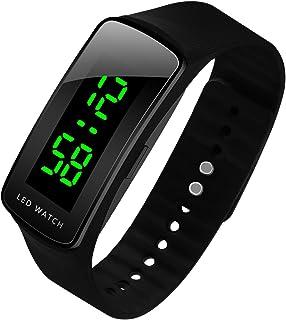 ef4dea5ef8e2 LED Watch Fashion Sport Waterproof Digital Watch for Boys Girls Men Women  Bracelet
