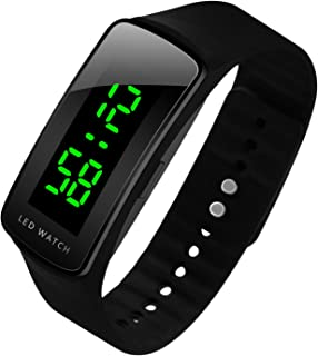LED hombres reloj Fashion Sport Digital resistente al agua reloj para hombres niños niñas reloj de pulsera, mejor regalo de Navidad.
