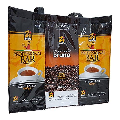Zicaffe Tragetasche - Zicaffe Tasche aus Kaffeebeutel
