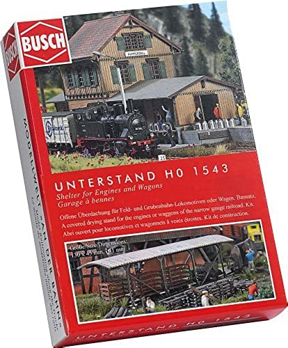 ganancia cero HO HO HO Scale Coverojo Drying Stand by Busch  Obtén lo ultimo