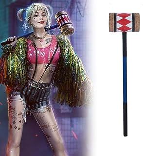 Birds Of Prey and the Fantabulous Emancipation of one Harley Quinn Cosplay Hammer Costume Mallet Props バーズ・オブ・プレイ ハーレイ・クイン...