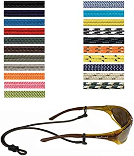 Optic Nerve, Terra Spec Micro Solid Croakie Cords, Eyewear Retainer, Sunglasses Accessories Strap - Assorted Colors