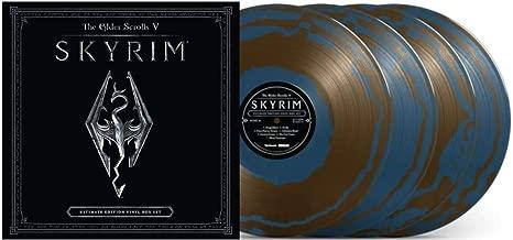 The Elder Scrolls V: Skyrim (Ultimate Edition Sapphire Circlet Blue 4XLP Vinyl Box Set #/200)