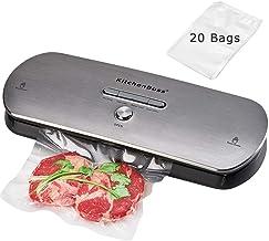 KitchenBoss Envasadora Máquina Selladora de Vacío para