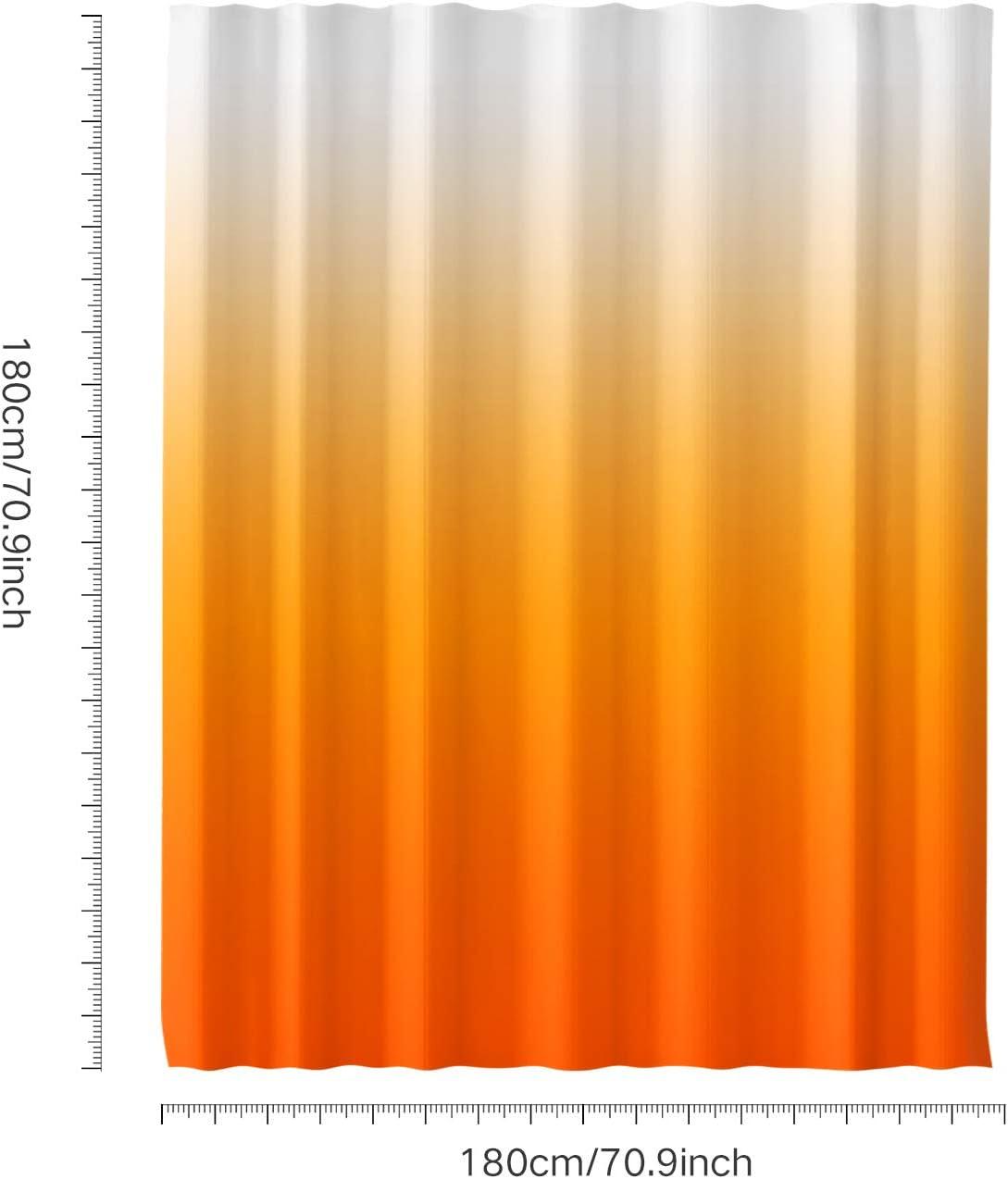 Rideau de Douche 180/×180 cm avec 12 Anneaux de Rideaux pour Sall de Bain 4 Motif Assortis H HOMEWINS Rideau de Douche en Polyester Imperm/éable Anti-moisissure Noir
