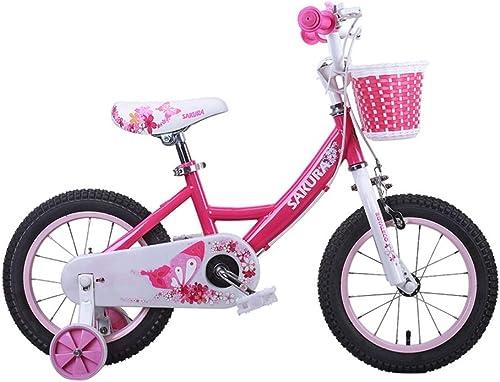 Kinderfürr r Rosa fürrad Girls Bikes 2-4-6-8 Jahre 12, 14, 16 Zoll Kinder Kinder Dreir r Sportfürr r