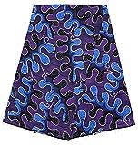 HITARGET Wax Pagne Tissu Africain Collection Original 6 Yards Cire imprimé Top qualité 100% Pur Coton réf KXR