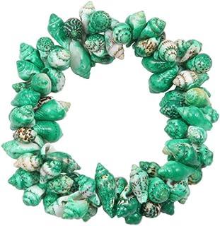 Anxiety Bracelet Conch Shell Elastic Bracelet For Women Sea Style Beach Bracelets Bangles Summer Holiday Gift Femme Fine B...