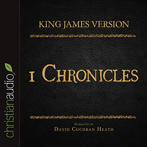 Holy Bible in Audio - King James Version: 1 Chronicles audiobook cover art