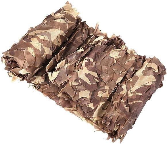 ZZBWZW Véhicule Camouflage Filet Auvent Filet pour Patios Serre Ombre Filet Jardin Camping en Plein Air Chasse à L'armée Tir Militaire Léger pour Enfants Den 2m 3m 4m 6m 8m 10m