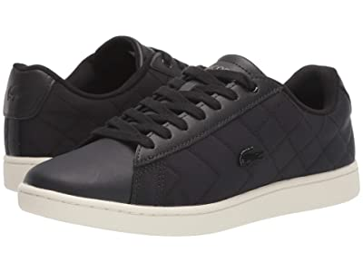 Lacoste Carnaby Evo 319 8 (Black/Off-White) Women