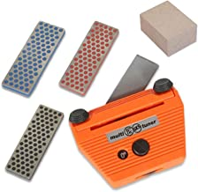 Complete Edge Care Kit Base-Side Ski Edge Tool +3 Diamonds +Gumi Stone