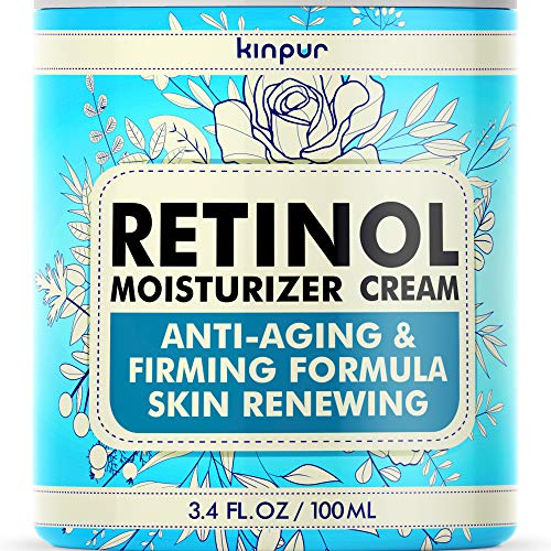 6109l9IX6dL - Premium Anti-Aging Face Moisturizer for Women - Pure Retinol Cream with Firming and Anti-Wrinkle Effect that Really Works - Effective Face Care for Women, 3.4 oz