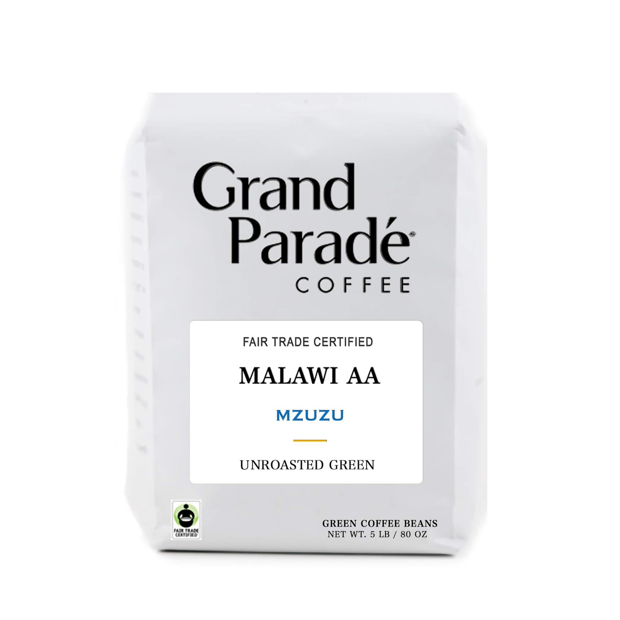 5 Lb Unroasted Green Coffee Beans Malawi Aa Mzuzu Single Origin