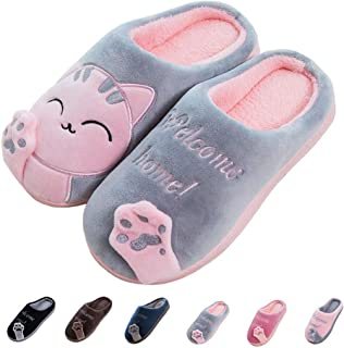 41b74321ef70a1 Women s   Men s Comfort Memory Foam Slippers Breathable Fuzzy Slip on Clog  House Shoes w