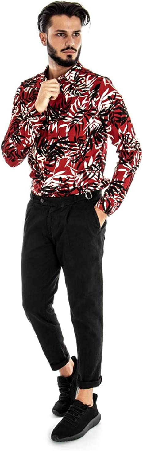 Giosal Outfit - Conjunto de Camisa de fantasía para Hombre ...