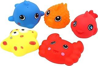Little Treasures Bath Toys for Toddlers Non Toxic Fun Bathtub Toy