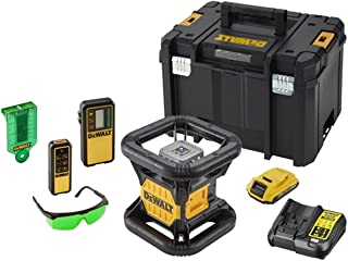 DeWalt Rotary Laser, 360 Degree, Self-Levelling, Fully Automatic, 18V - DCE079D1G-GB, 3 Years Warranty