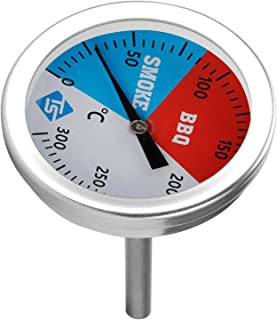 Fenteer Temperature Thermometer Gauge Barbecue BBQ Grill Smoker Pit Thermostat BBQ Tool Household Thermometers