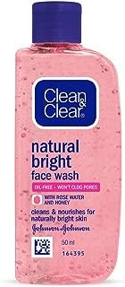 Clean & Clear Natural Bright Facewash, 50ml