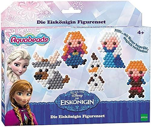 Aquabeads Disney Frozen Die Eisk gin Figurenset, 480 Perlen in 15 Farben für 7 Motive