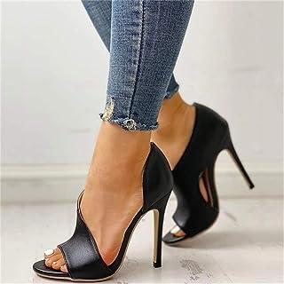 Women Sandals Thin High Heels Platform Peep Toe Sexy Fashion Wedding Party Ladies Shoes