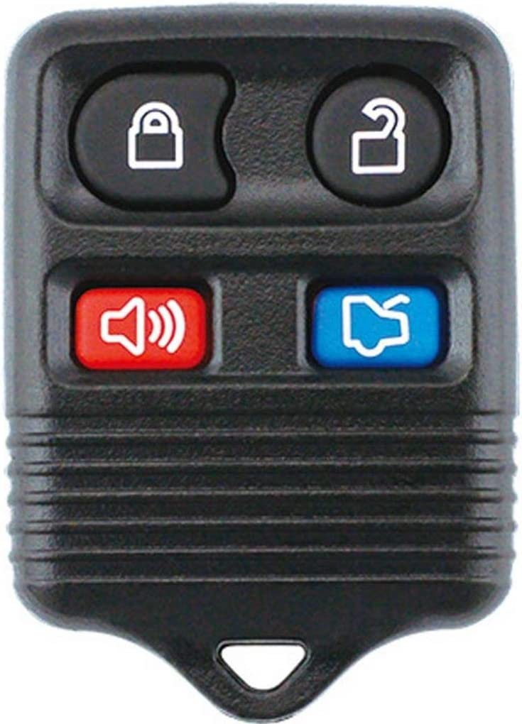Keyless 4 Buttons Remote Key OFFicial store Shell For L Mustang Direct stock discount Focus Case Ford