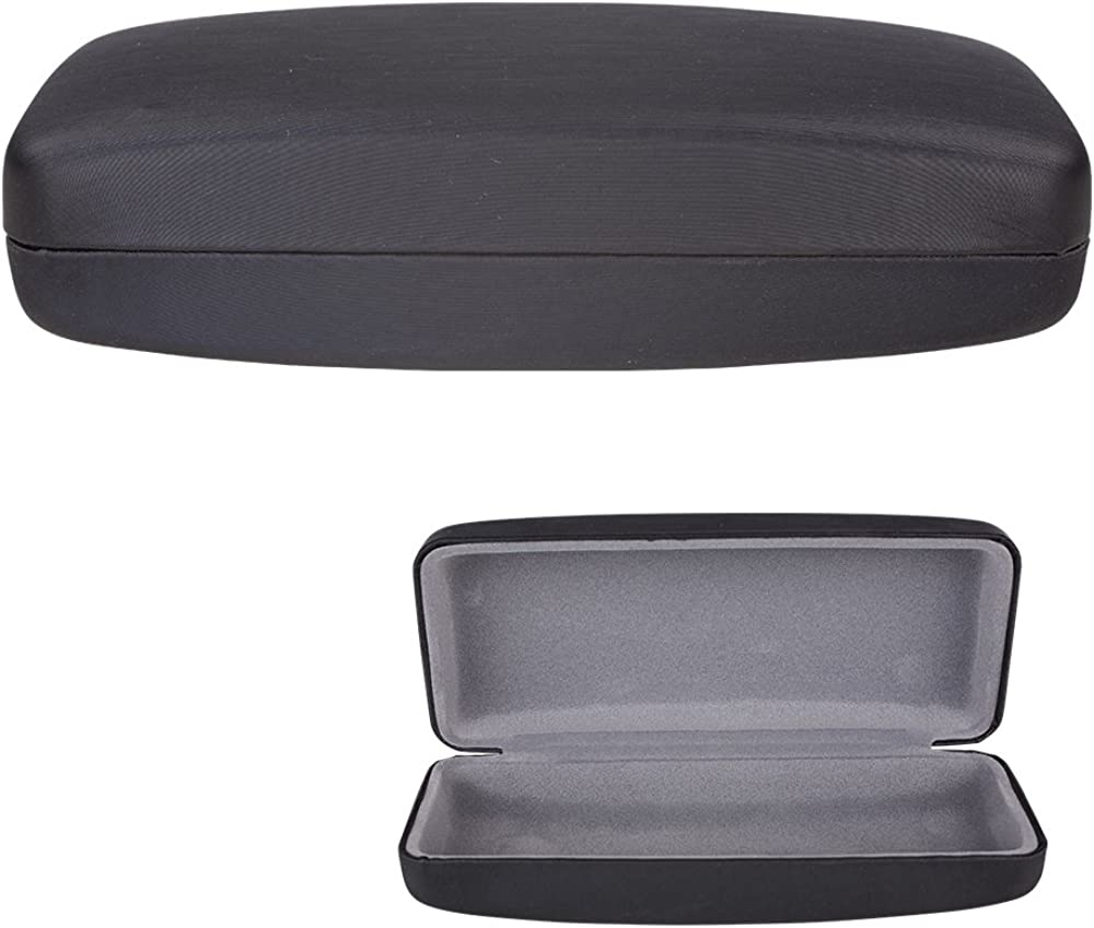 Clamshell specialty shop Hard Shell Glasses Case - S with Brushed Deluxe safety Finish