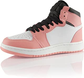 Fusskleidung® Damen Herren Sneaker High Top Sportschuhe