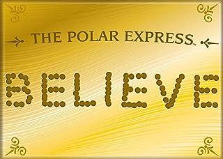Ata-Boy Polar Express Believe Magnet für Kühlschränke und
