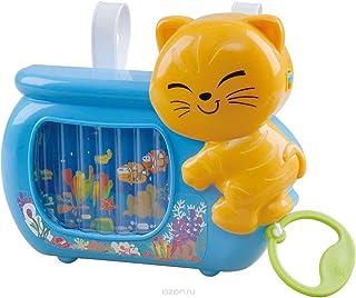 لعبة بتصميم قطة وحوض سمك من بلاي جو