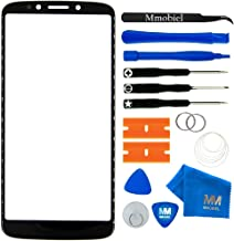 MMOBIEL Front Glass Repair kit Compatible with Motorola Moto G6 Play 5.7 Inch 2018 (Black) Display incl Tools