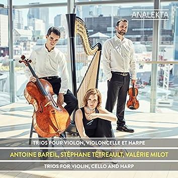 Trios for Violin, Cello and Harp